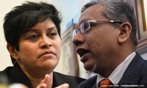 Hanipa apologises for sexist remark, Azalina forgives him