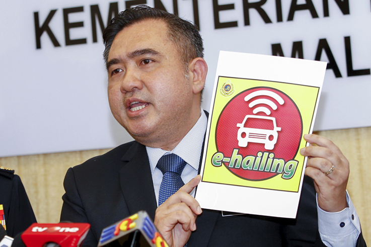 JPJ code for e-hailing vehicles will not appear on grant, says transport minister
