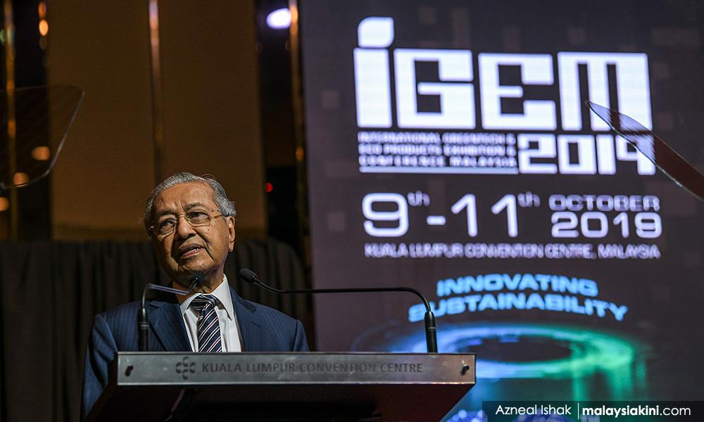 马哈迪否认,亲属从可再生能源合约受惠
