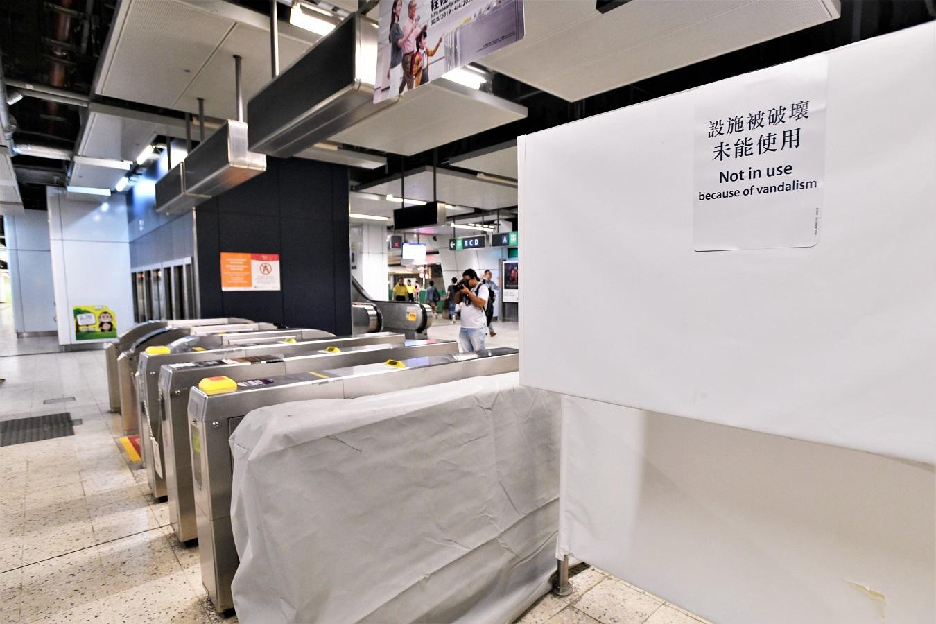 港铁观塘站紧急復修后周四重开 车站实施客流管理措施