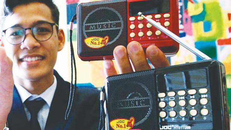 Radio Al-Quran earns teen tidy sum