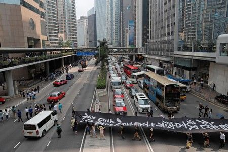 China denounces Thai politicians for show of support to Hong Kong activists