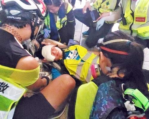 【修例风波】关注印尼记者受伤 警:投诉警察课会公平公正调查