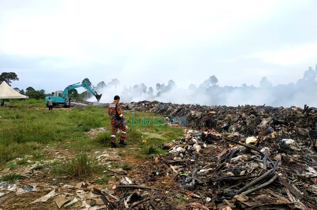 Fire at closed landfill under control — Bomba