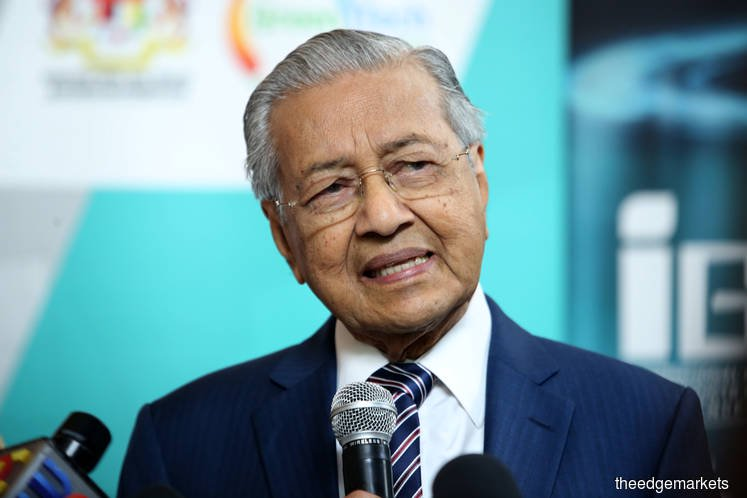 Lower tax and increase in subsidies is contrary — Dr Mahathir