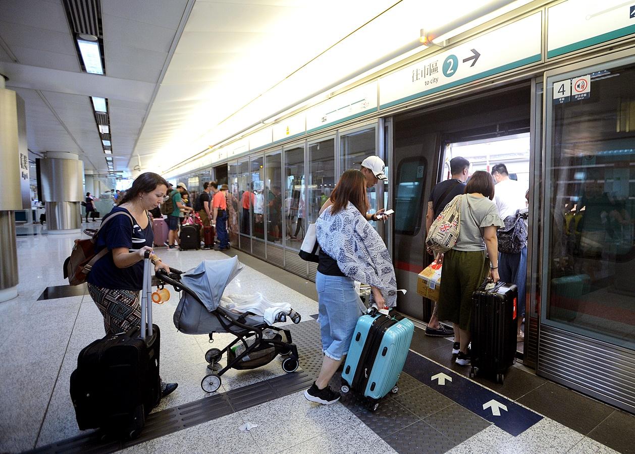 机铁只停香港站 港铁各缐服务安排明早公布