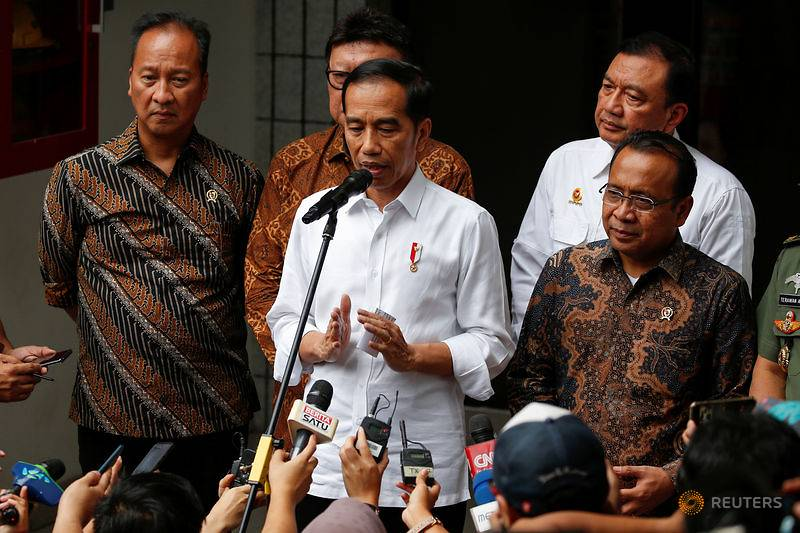 Indonesian police ramp up suspect search after stabbing attack on security minister