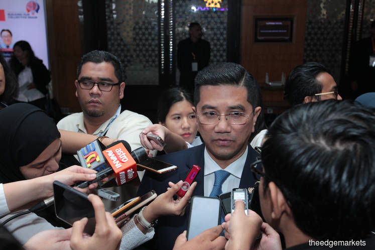 Khazanah's divestment proceeds not to pay govt debts, says Azmin