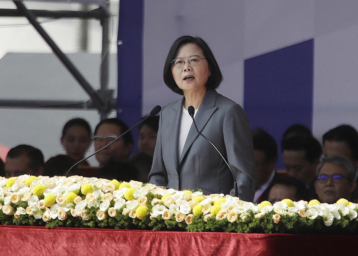 【修例风波】国台办斥蔡英文攻击香港一国两制谋取选举利益