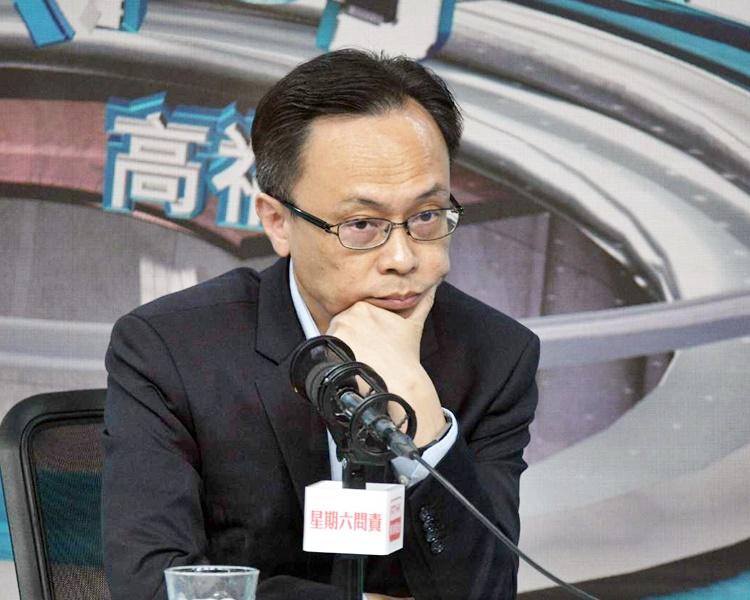 【区会选举】聂德权拒评以「光復香港」为口号会否被DQ