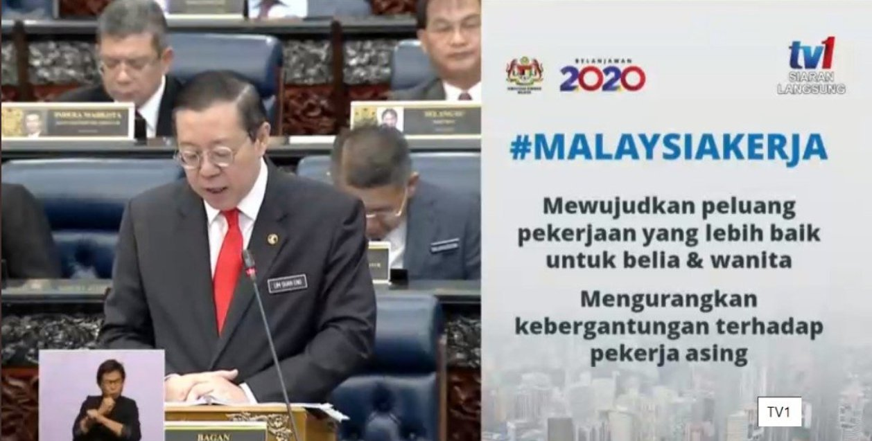 #Budget2020: Women And Youth Who Return To Work Will Receive RM500 Monthly For 2 Years