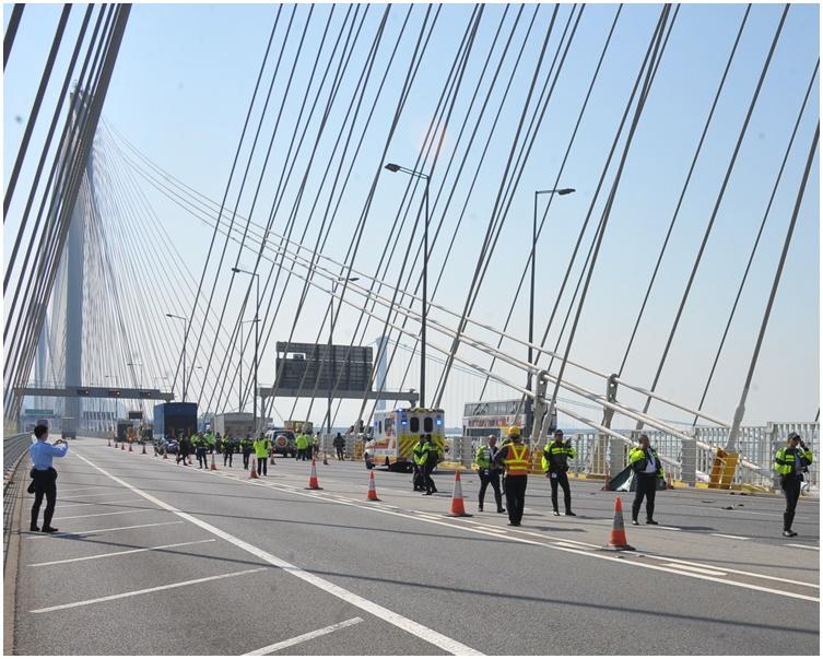 不堪生意转差 33岁运输公司东主图跳汀九桥寻死