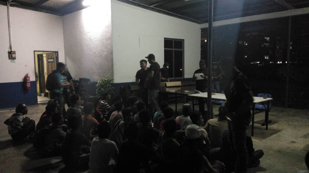 46 drug suspects deatined in KK