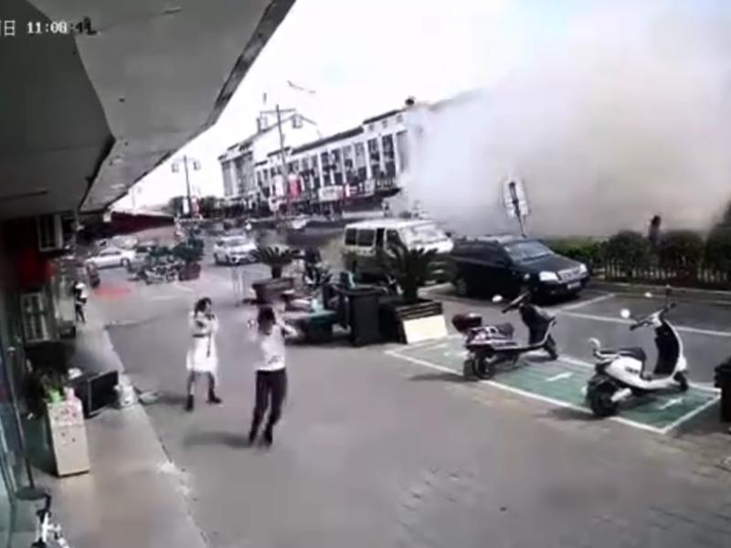 无锡小食店发生燃气爆炸 6人经抢救无效身亡