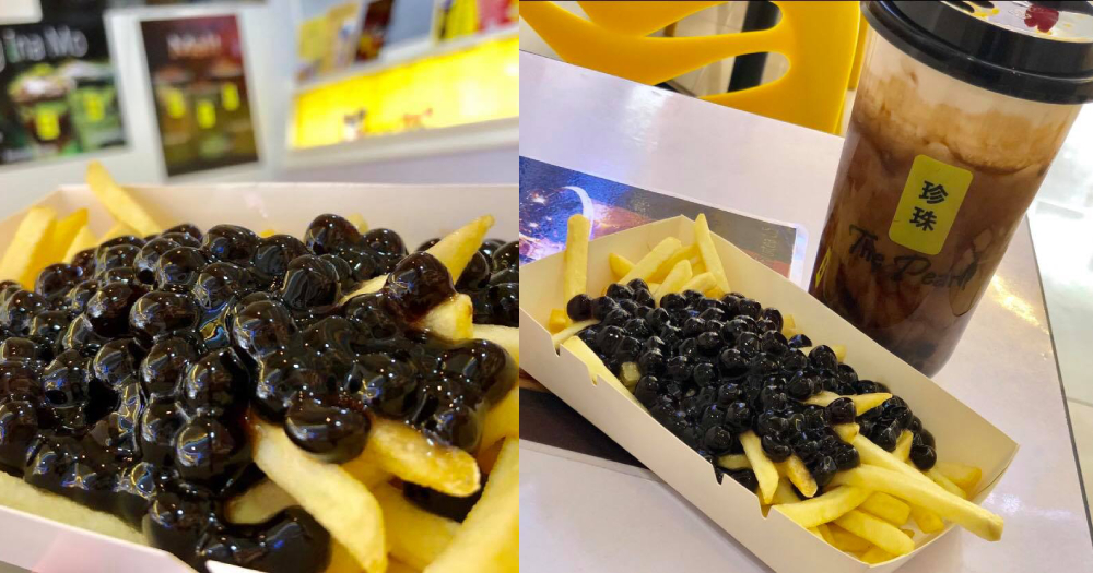 Bubble tea pearls on French fries sold in the Philippines leads to questions if we've gone too far