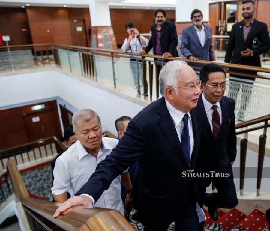 Trial postponed as Najib wants to speak in Parliament