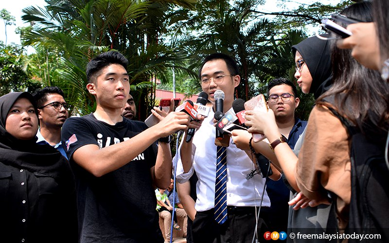After convo protest, student claims UM barred him from receiving scroll
