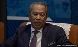 Police investigating flag incident from several angles - Muhyiddin