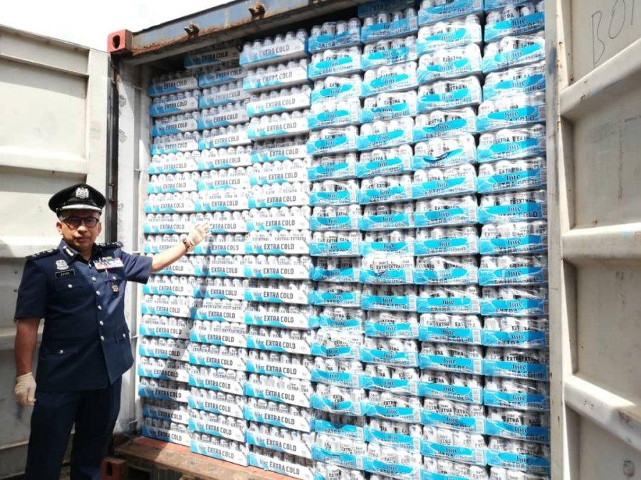 申报冷气器材 货柜藏4188箱走私啤酒