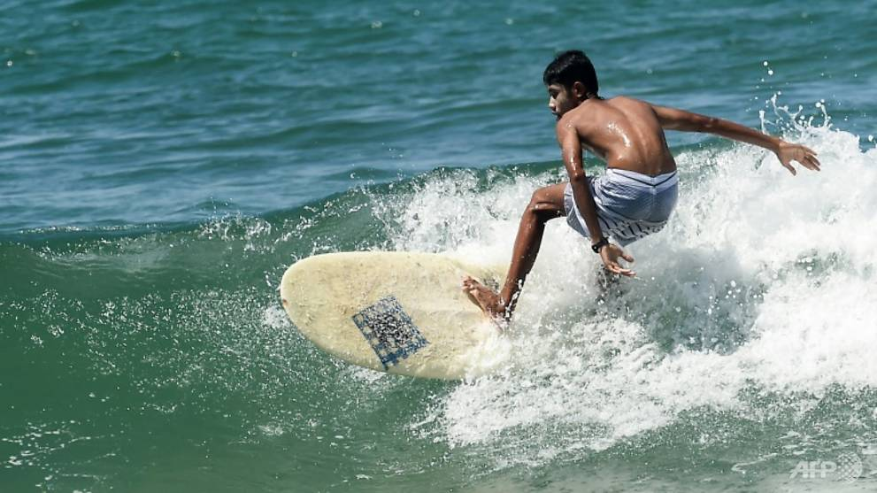 Far out: Myanmar's first surfing team to take off at SEA Games