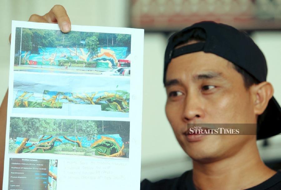 Local artist claims design plagiarised by DBKK