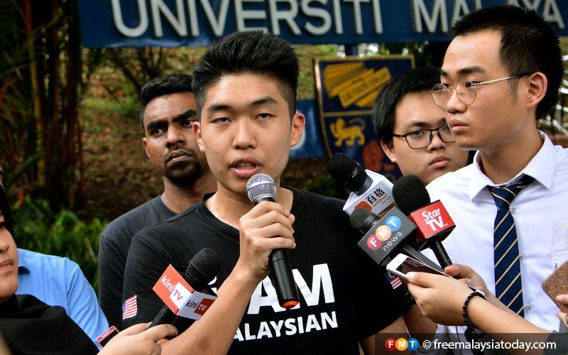 Former UM student body leader denies DAP links