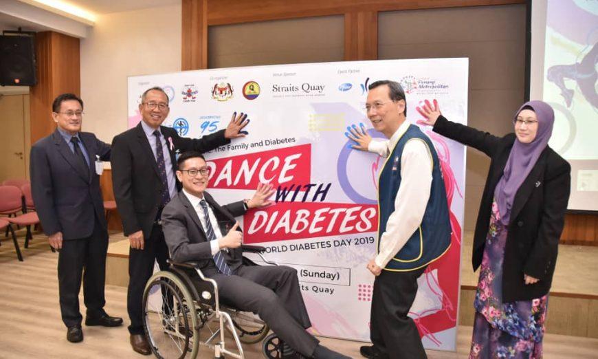 Practise healthy lifestyle to prevent diabetes, urges exco man
