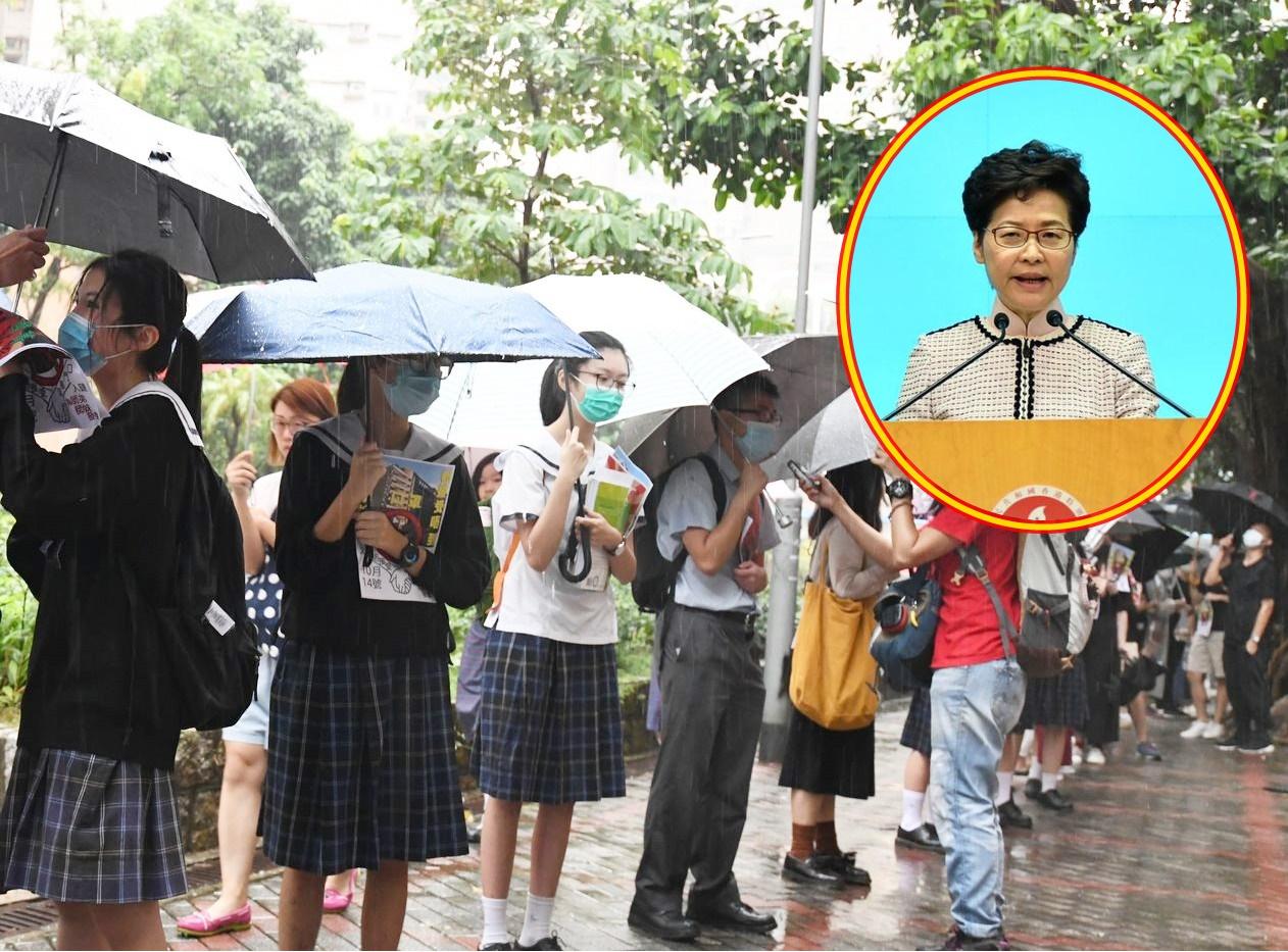 【施政报告】对青年仍充满热诚 林郑月娥:沒说全部青年亦是暴徒
