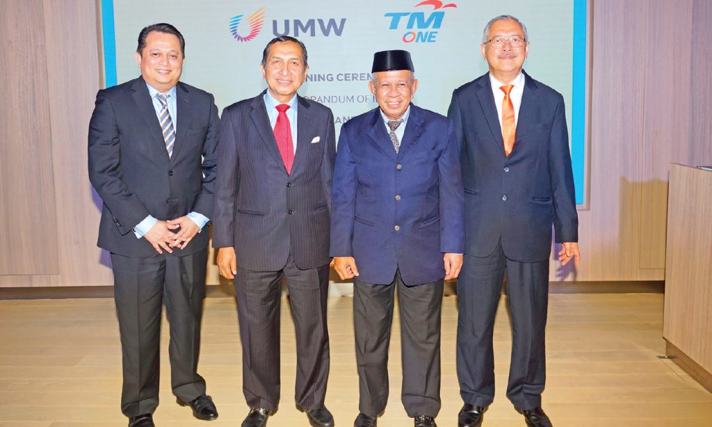 TM One, UMW to co-develop digital solutions for Malaysian industries