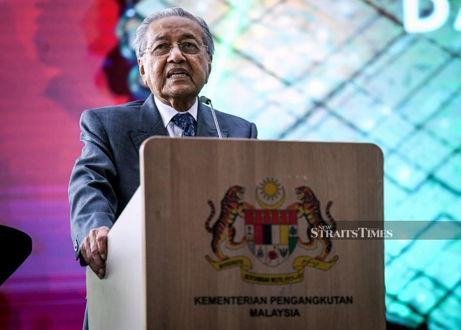 Dr M: Transport sector important for M'sia to become a developed nation