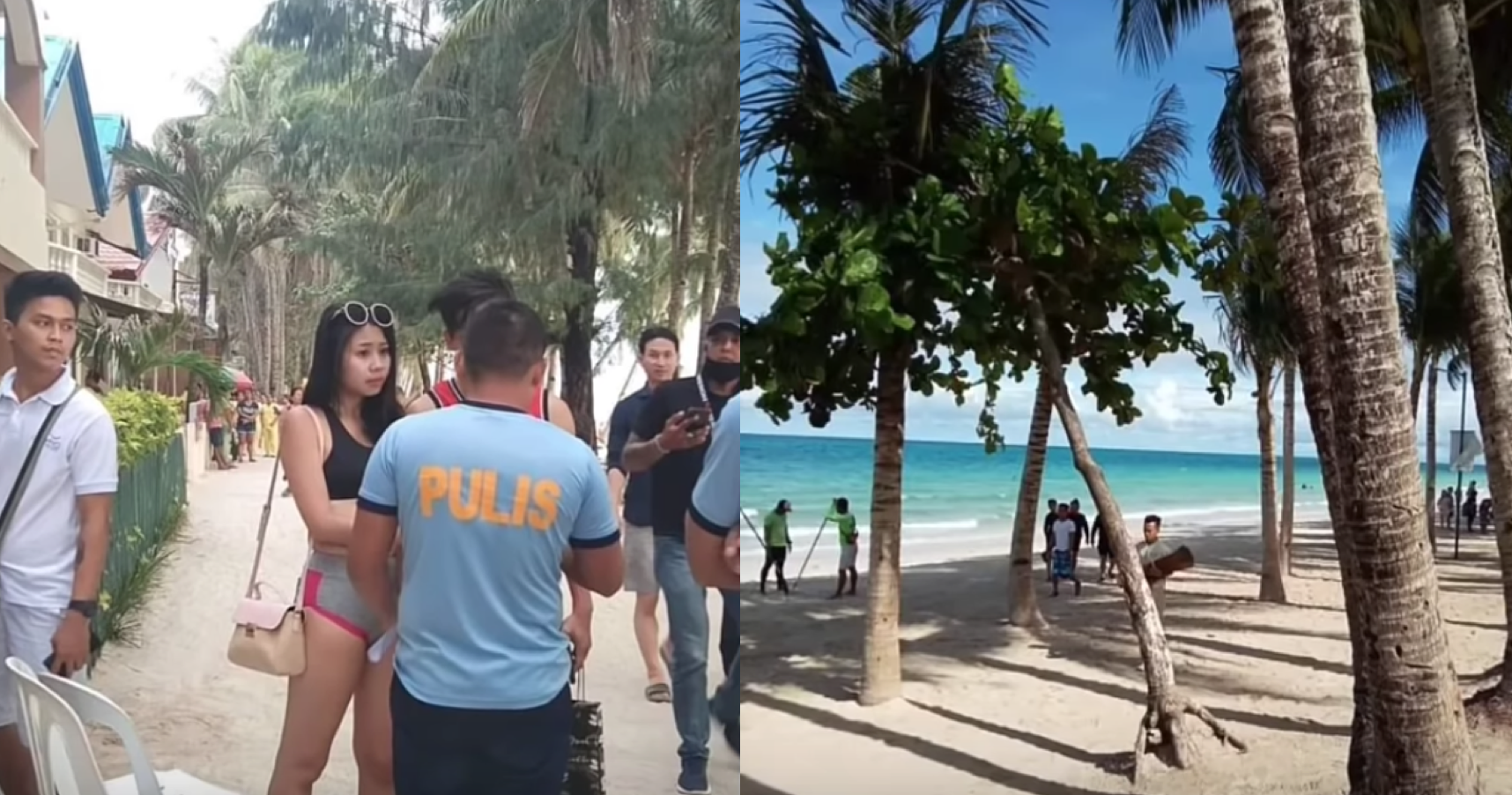 Boyfriend of Taiwanese tourist in 'string' bikini tells people to not share her photos, personal details