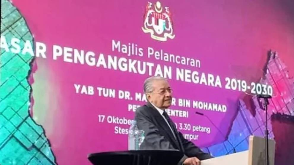 Malaysian PM Mahathir confirms RTS will proceed, but says it will 'take some time'