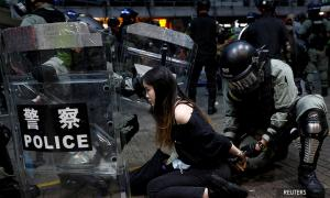 Hong Kong police detained more than 2,200 since start of protests