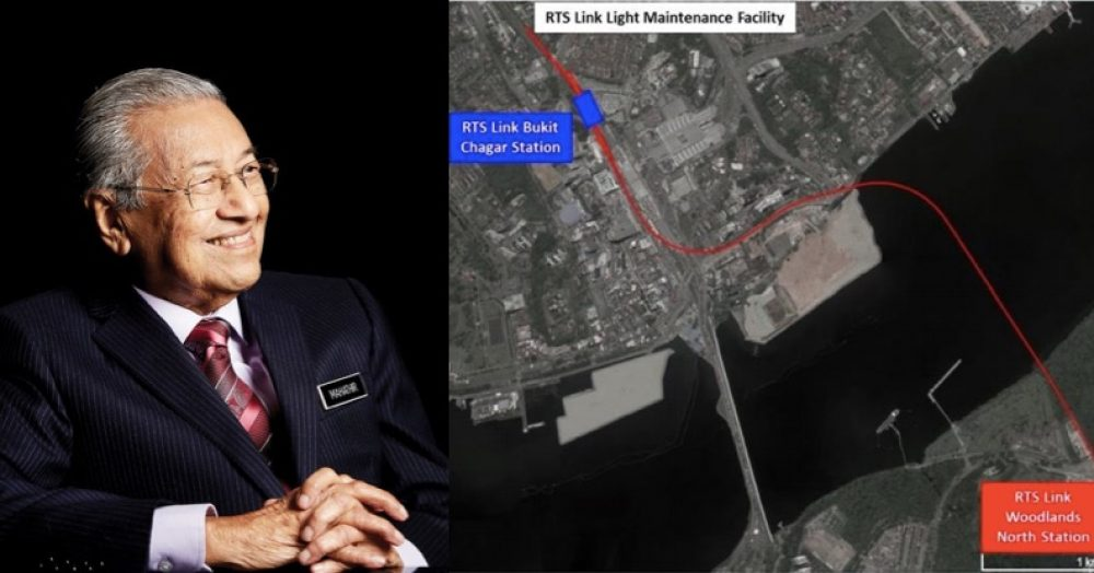Mahathir gives green light for Rapid Transit System Link between S'pore & M'sia