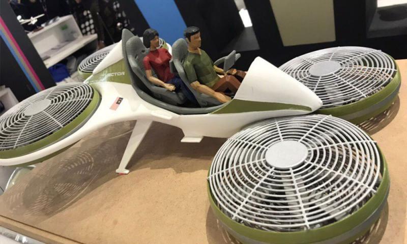 真的来了! 企业部长宣布年尾推出「飞行车」,隆飞槟 1小时车程!
