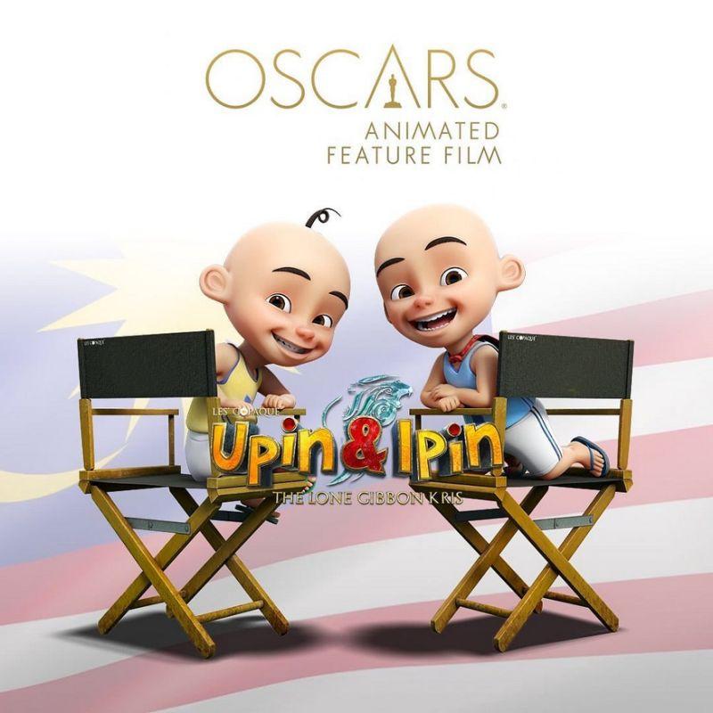 Malaysian production 'Upin & Ipin: Keris Siamang Tunggal' enters Oscar race for best animated film