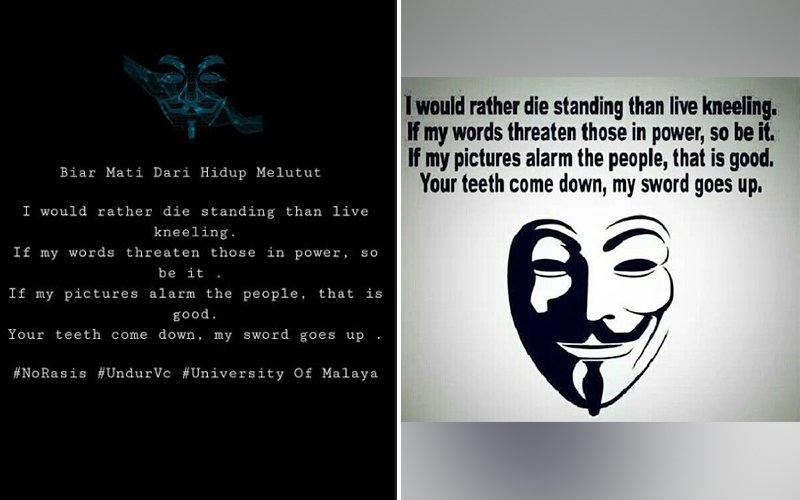 Student activist denies hacking UM e-payment website