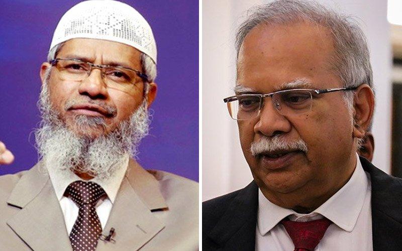 Zakir files fresh defamation suit against Ramasamy