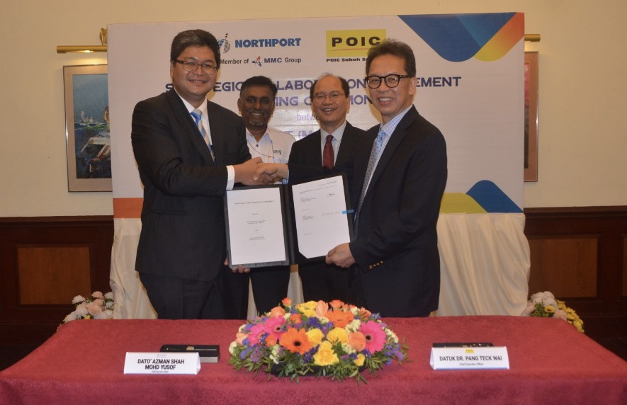 POIC Sabah inks Strategic Collaboration Agreement with Northport