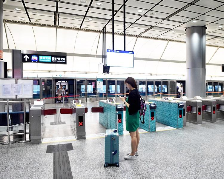 机铁下午5时起不停九龙及青衣站