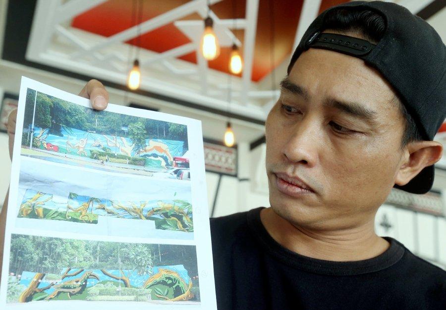 DBKK investigating artist's claim that his work was plagiarised