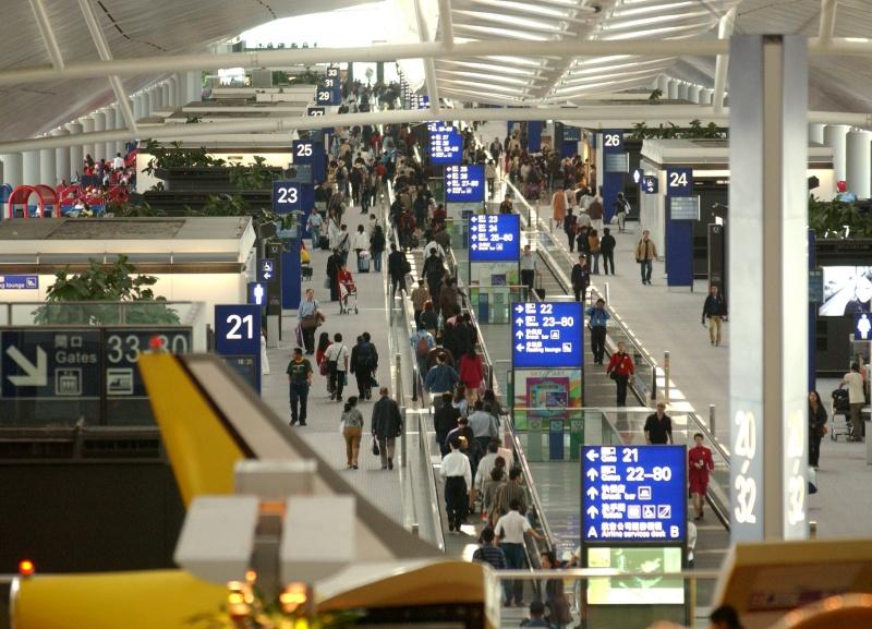 机场9月客运量跌12.8% 货运量跌幅收窄至5.9%