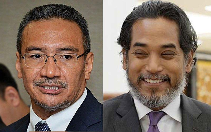 Kadir Jasin wants Hishammuddin and Khairy to take over Umno