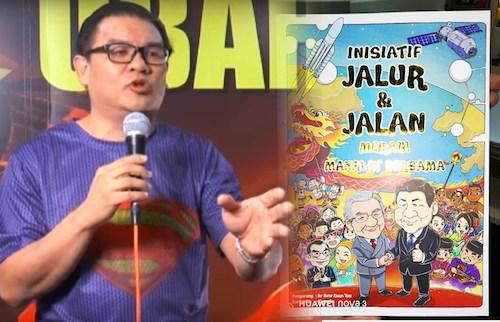 Superman Hew's DAP comic book promotes communism, says Home Ministry