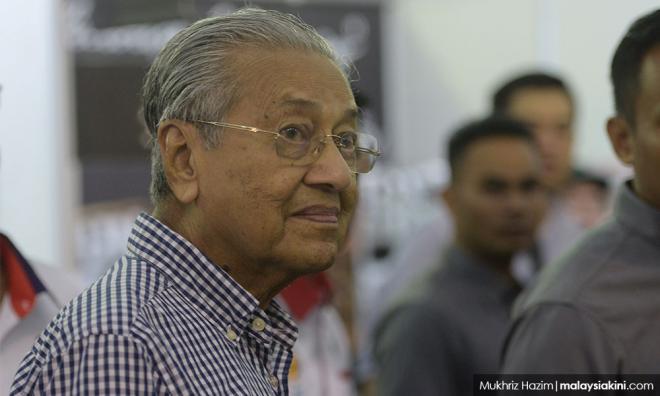 马哈迪不反对主席理事会商交棒事宜