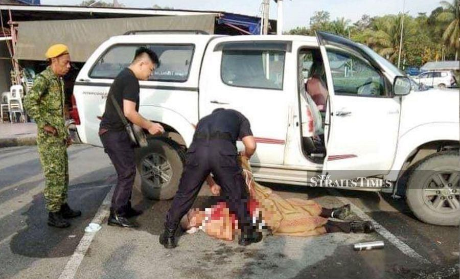 Indonesian national stabs businessman to death after being shouted at