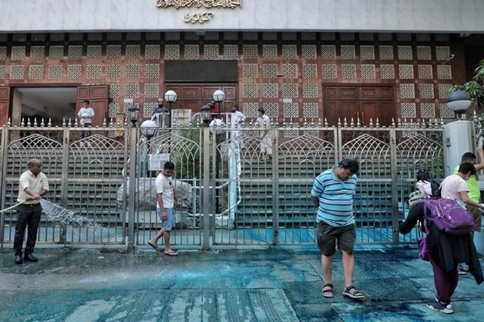 张建宗指清真寺染蓝不涉歧视 721事件报告会公开