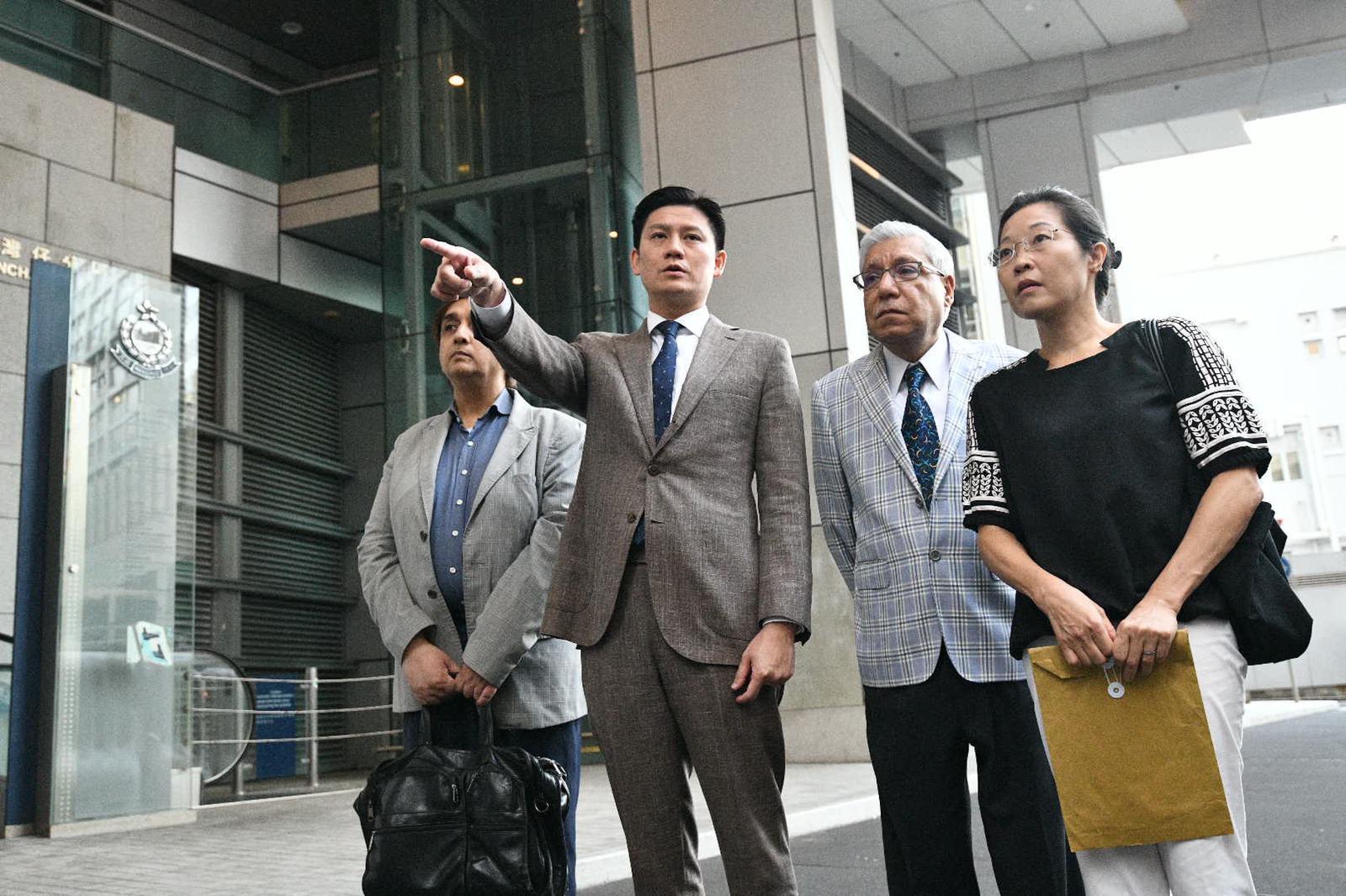 【修例风波】谭文豪向警方发律师信促交代蓝色水喷中清真寺