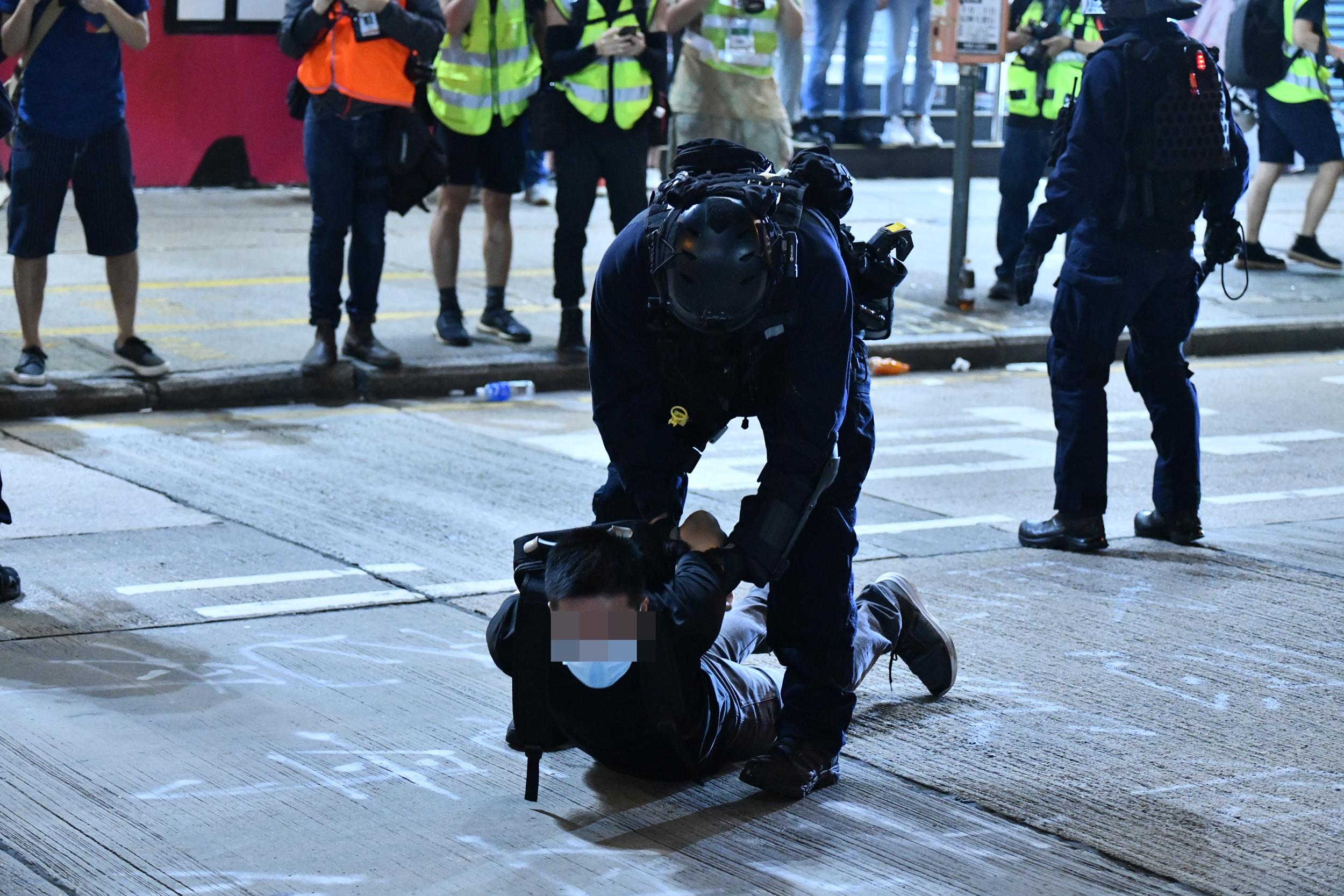 【修例风波】截至10月底共3001人被捕 落案控告510人