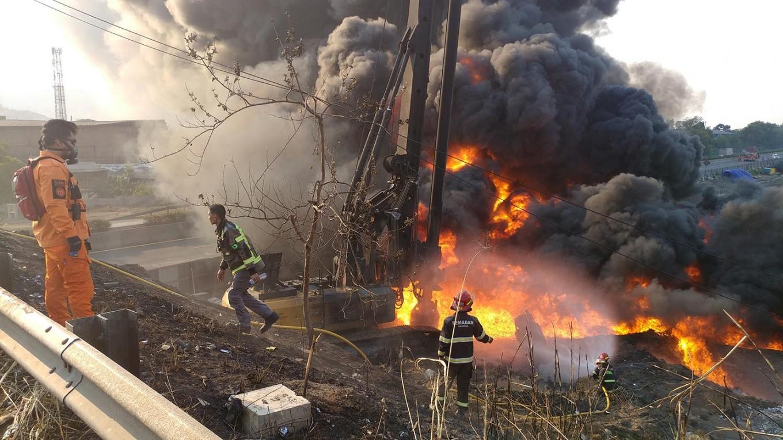 Pertamina oil pipeline explosion kills rail worker
